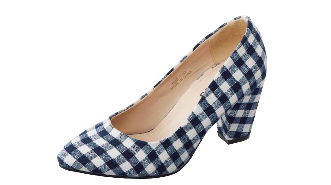 ギンガムチェックの靴で新鮮春コーデ★パンツにもスカートにも合うのはコレ!_2_2-2