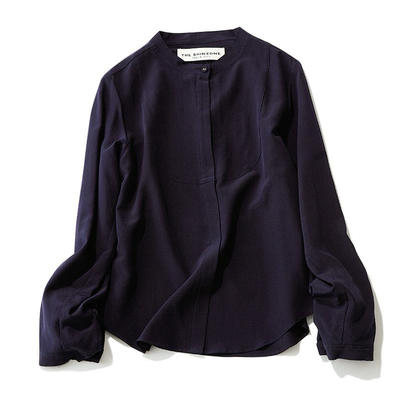 この春はシャツが着たい。「スタンドカラー」は襟の形に変化あり!_1_2-1