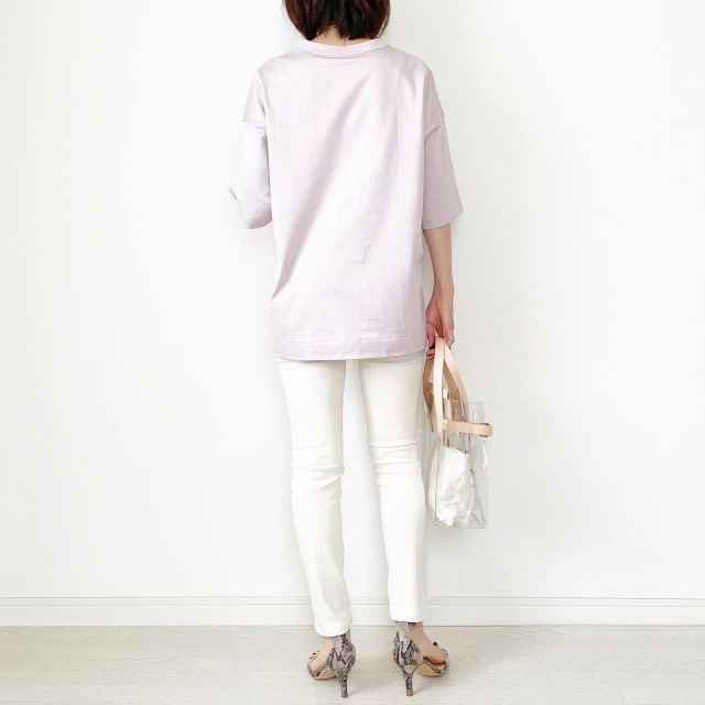 『UNIQLO+J』やっぱりこれが好き♡神Tシャツ着まわし【tomomiyuコーデ】_1_6