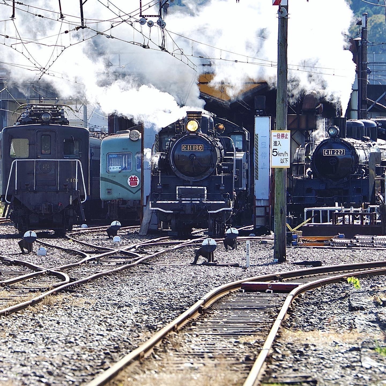 昔の客車に乗りたくて、大井川鐡道へ。_1_2-1