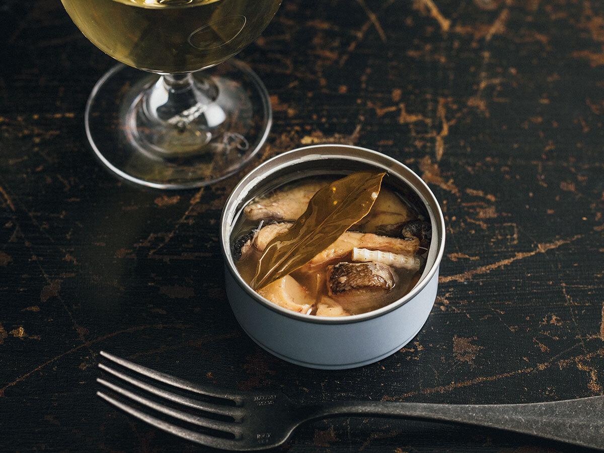 「自然派缶詰 カンナチュール」の山の宝 アマゴの澄味オイル煮