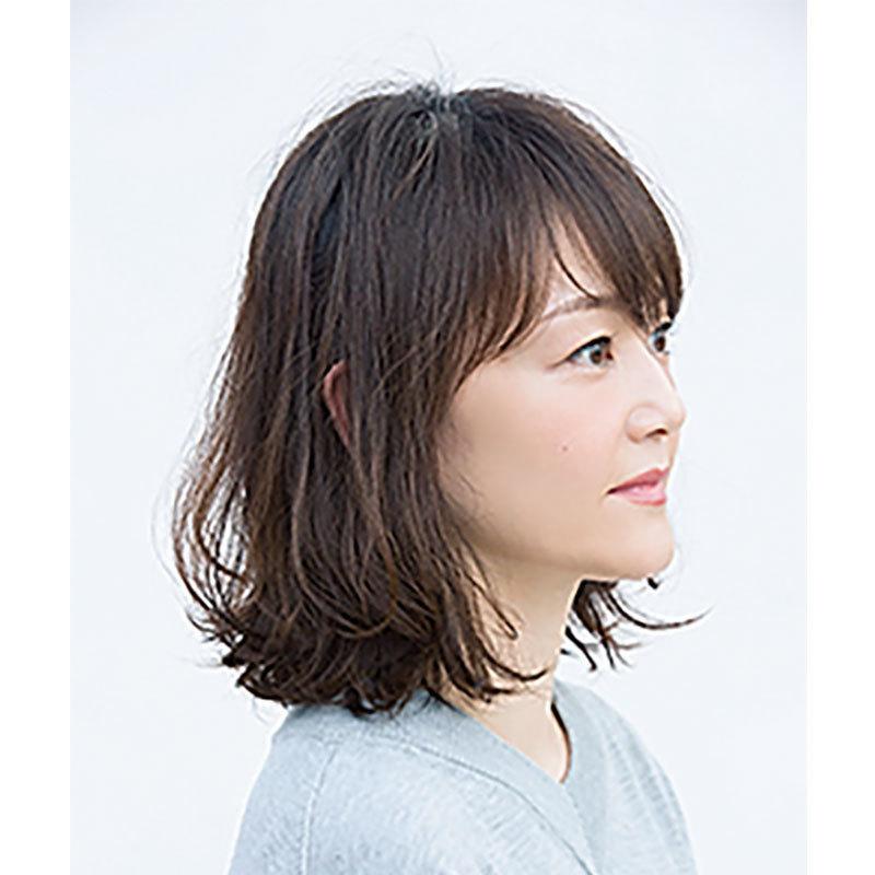 横から見た 人気ヘアスタイル4位の髪型