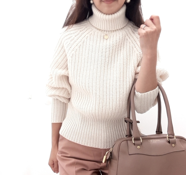 【Uniqlo U】新作!ローゲージタートルネックセーターが素敵です♪_1_2