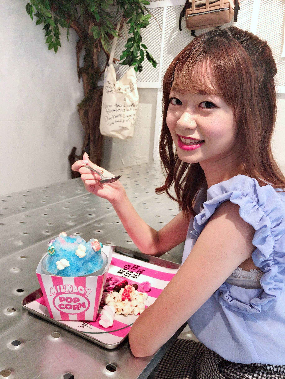 Vol.58♡ 期間限定!ポップコーン味のかき氷?!夏気分をまだ味わいたい方は是非♡_1_4