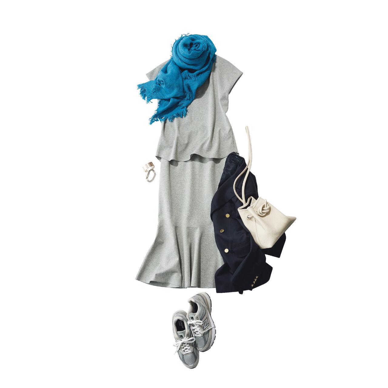 【スニーカーでおしゃれに見せるコツまとめ】アラフォーの2021夏 スニーカーコーデ実例|40代ファッション_1_21