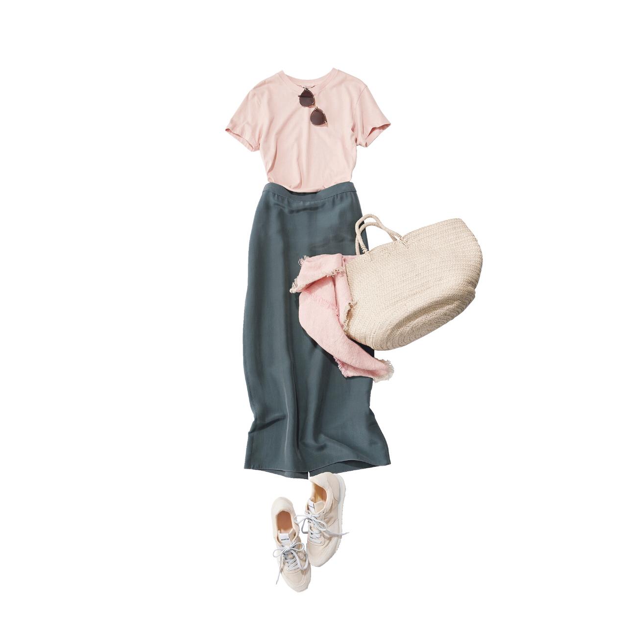 【スニーカーでおしゃれに見せるコツまとめ】アラフォーの2021夏 スニーカーコーデ実例|40代ファッション_1_19