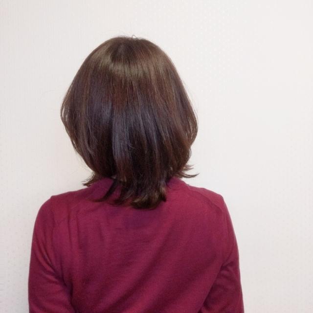 バングありミディアムヘアをキープ中【詳細あり】_1_3