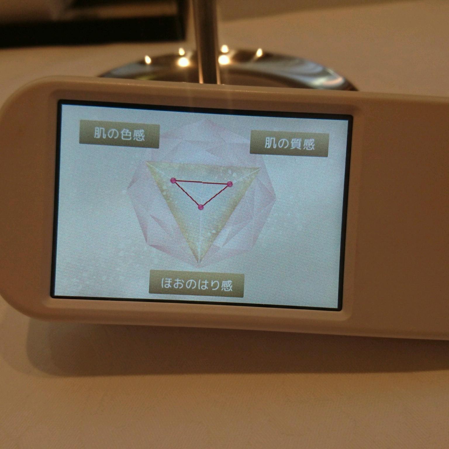 クレ・ド・ポー ボーテ 4Dはり美容液1ヶ月使用後の肌診断結果‼_1_2