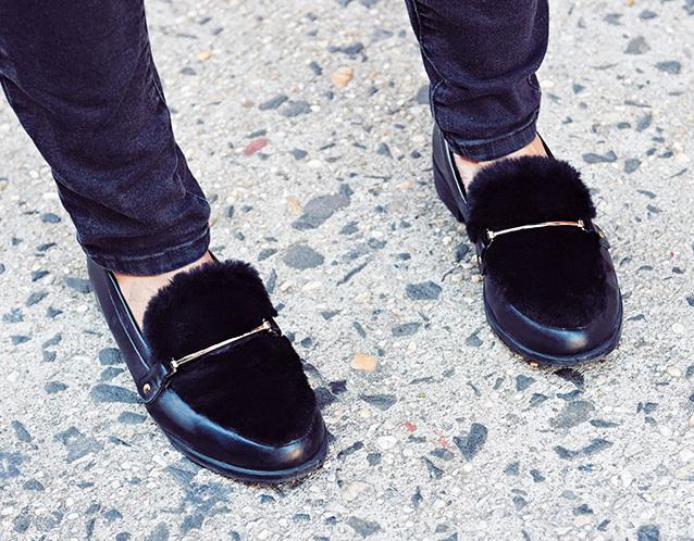 「辛口ショートブーツ」とあったか可愛い「ファーつき靴」【ファッションSNAP ミラノ・パリ・NY編】_1_3-1