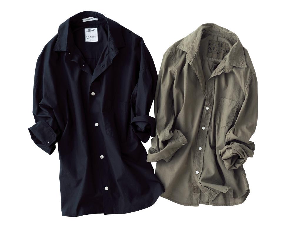 この秋、シャツを買い足すなら体に沿うダーク色が新鮮!_1_2