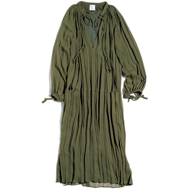 ブーケ ドゥ リュンヌのチュニックドレス