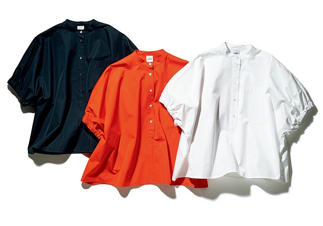 1.バルーンスリーブシャツ