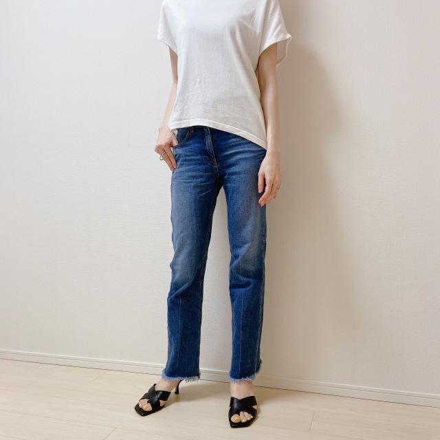 盛らなくてもサマになる! N.O.R.Cの白Tシャツ【40代のスタイルアップコーデ #6】_1_3