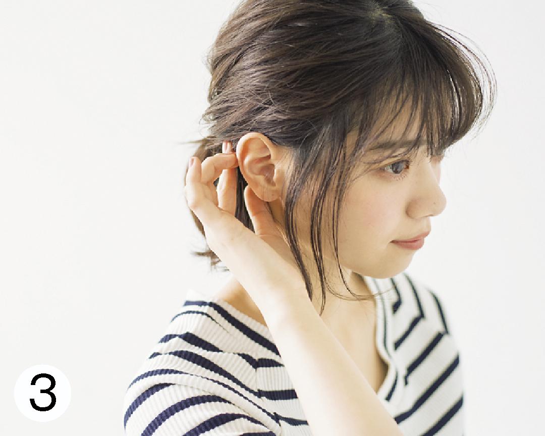 西野七瀬の#彼女感なまとめ髪♡ ボブのハーフアップ、ココが大事!_1_3-3