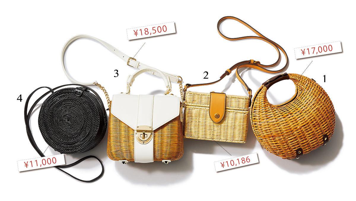 2019年夏、40代に人気のかごバッグは?   アラフォーファッション_1_1