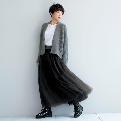 Fabiana Filippi チュールスカート ¥109,000+税