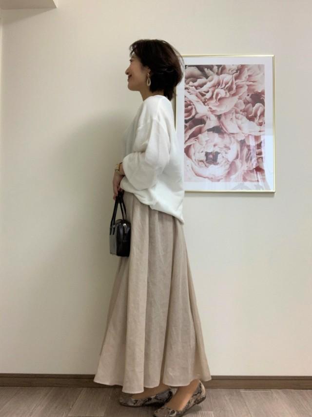 【Marisol別注】エディター三尋木奈保さん×martinique スカート_1_2-1