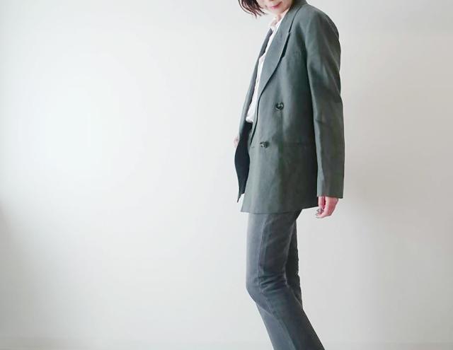 #ZARA のジャケットで春の大人ニュアンスカラーコーデ♡_1_3