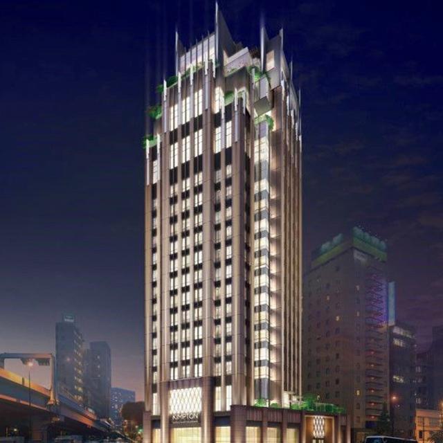 活気に満ちた新宿のエネルギーを表現した建築デザイン。