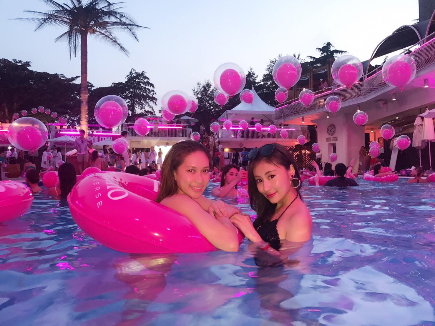 summer party♡プールでちょっとしたポイント_1_3