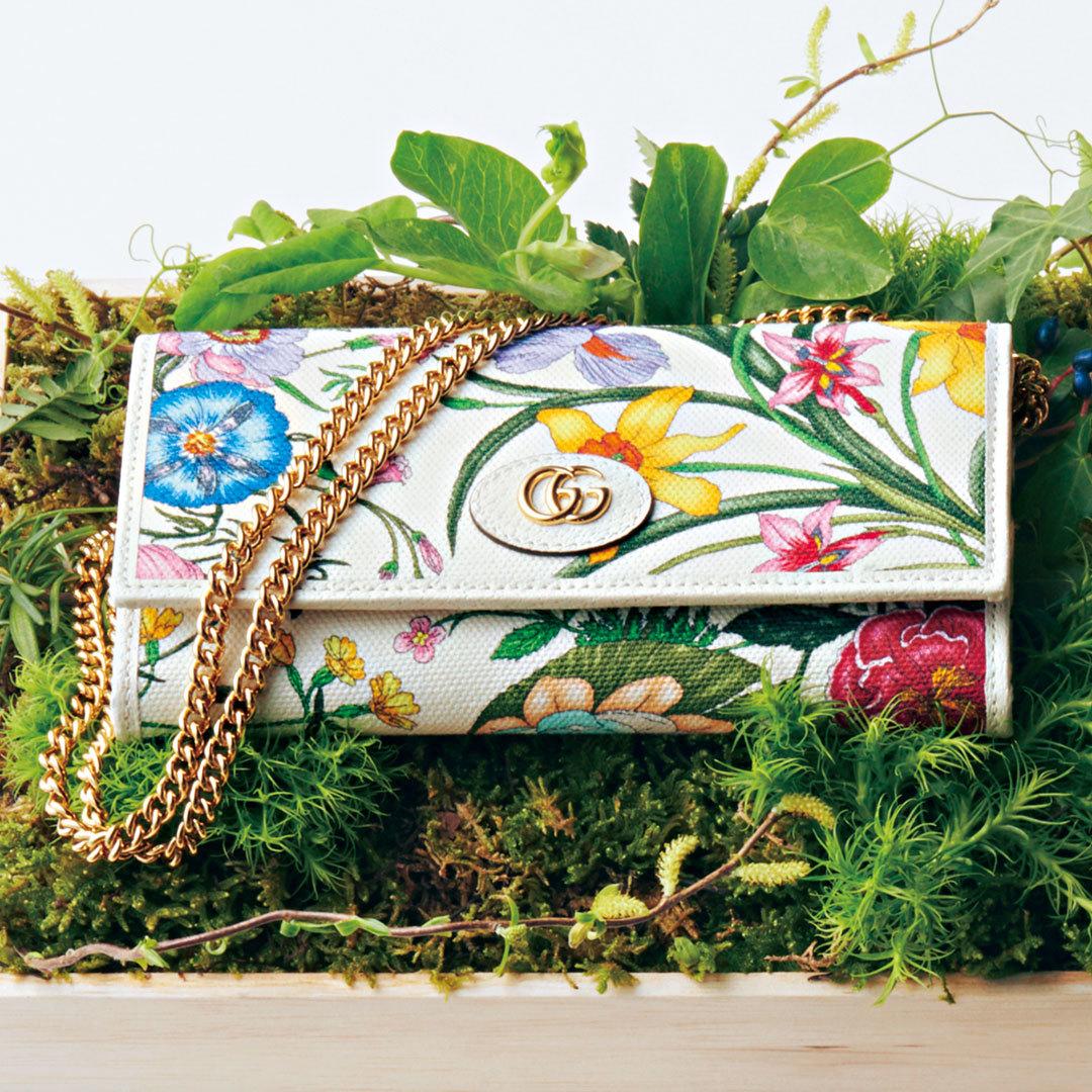 グッチの名作「フローラ」のミニ財布&バッグ、可愛さが止まらない!【20歳からの名品】_1_2-1