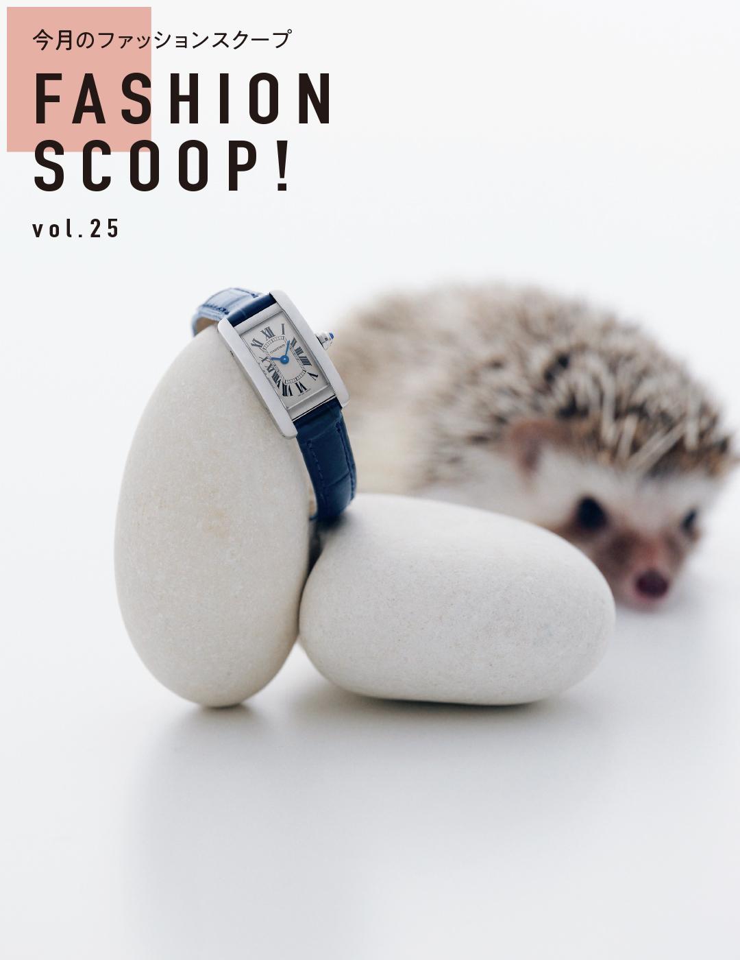 今月のファッションスクープ FASHION SCOOP! vol.25