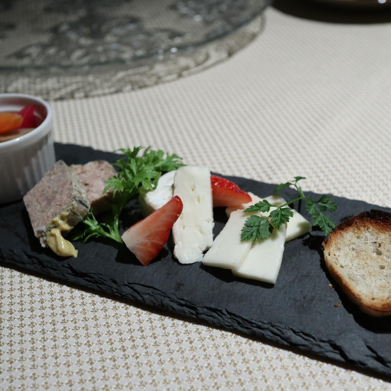 チーズ 前菜