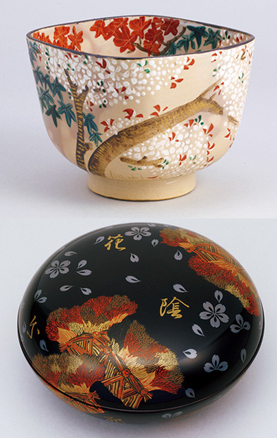 意外にも大胆な意匠。桜モチーフの「茶道具」【「京都」桜にまつわる10の愉しみ】_1_1