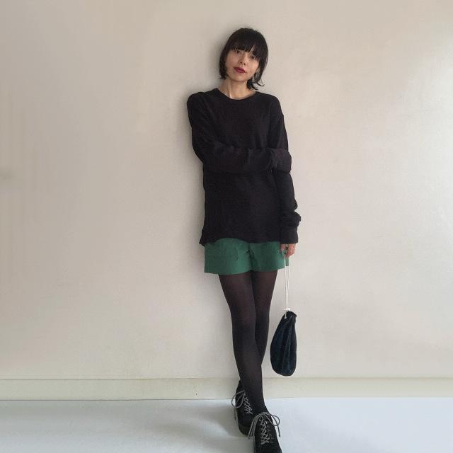 11月号付録「ニュアンスブラック美脚タイツ」コーデ実例!美女組の着こなしまとめ_1_16
