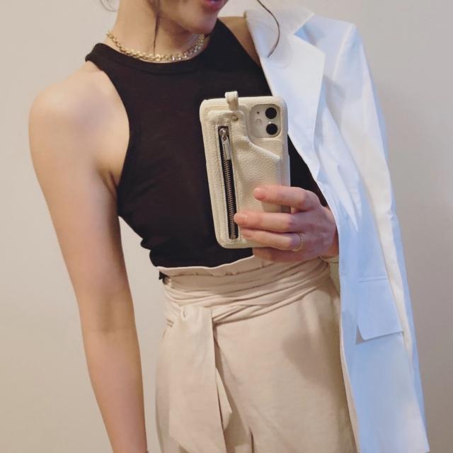 夏にさっと羽織りたい!Acne Studiosの白いジャケット_1_4