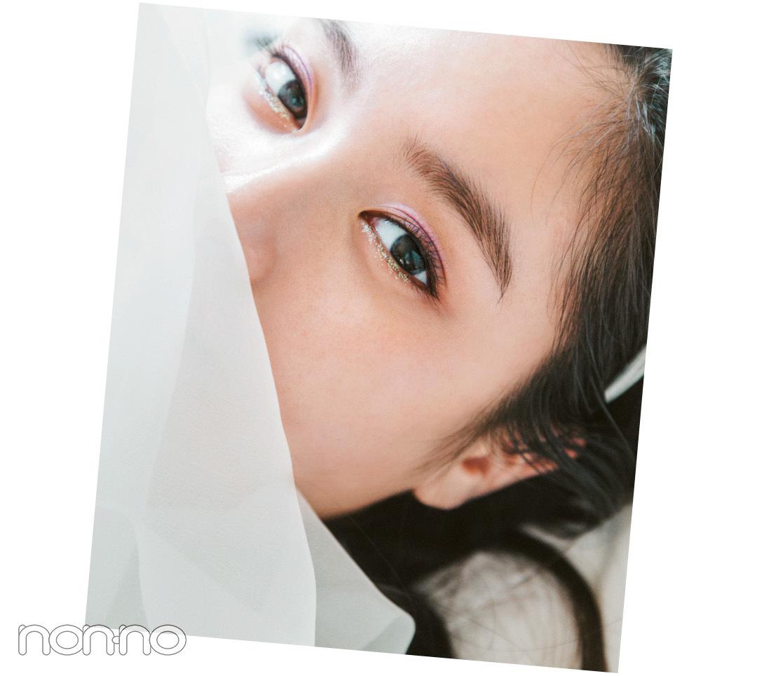 新川優愛のコスパでトレンドメイク♡ ジュエルなラベンダーはこう使う!_1_4