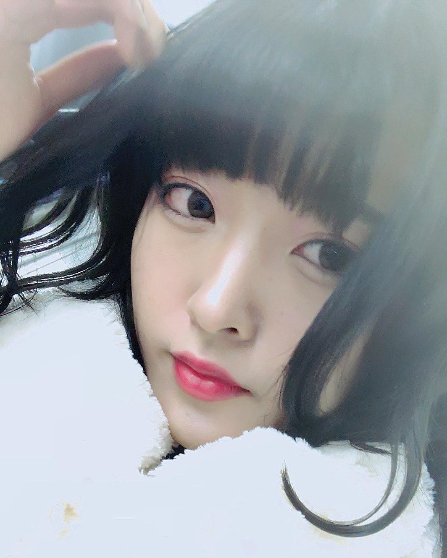 黒髪なのに透明感溢れる〈アッシュブルー〉ヘアカラー!♡_1_4-1