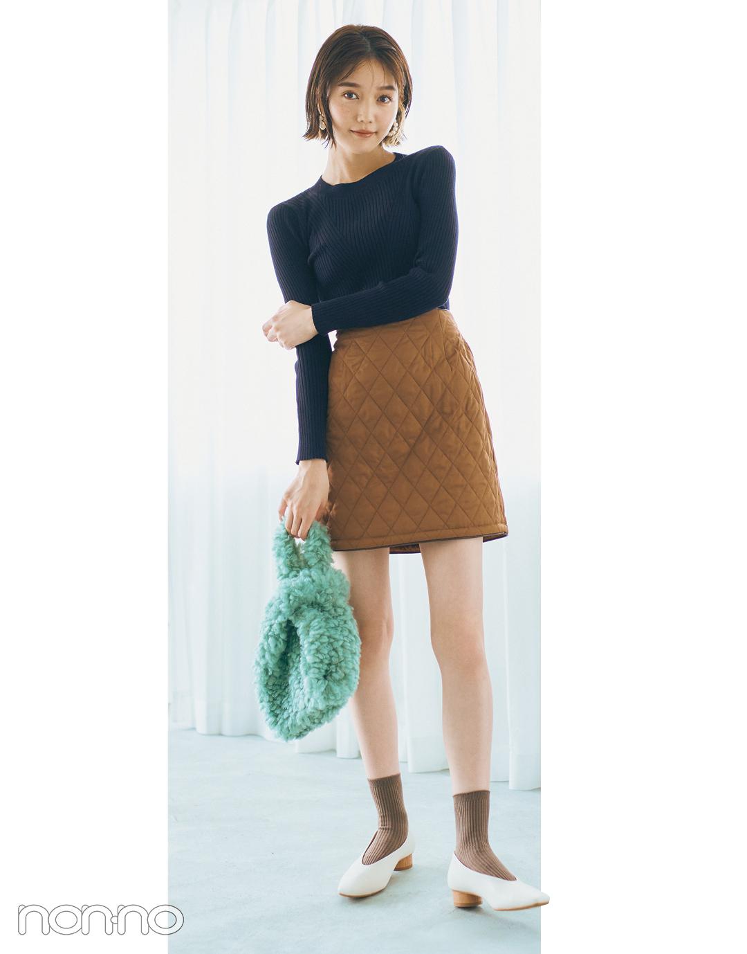 松川菜々花のはきたい靴から考える、本日のコーデ。モデルカット1−3