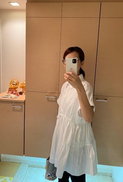 大人可愛い♡ZARAのモノトーン甘ブラウス_1_3