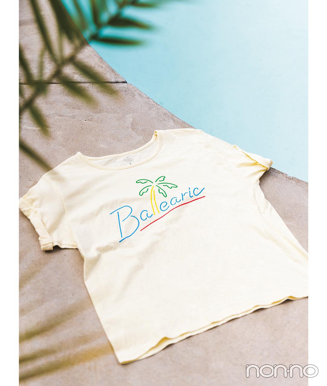 バレアリック飲食店のショップTシャツ