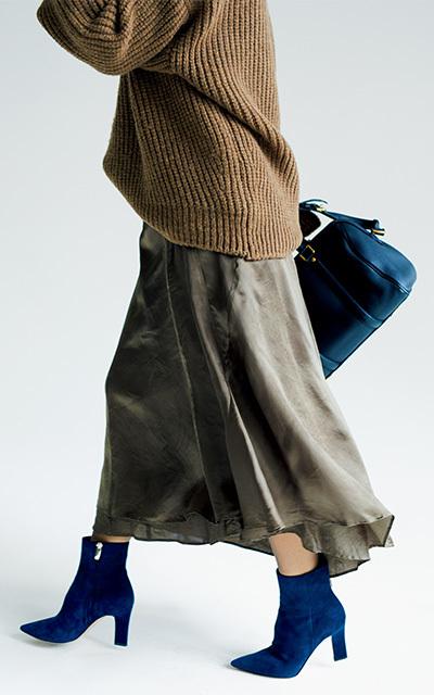 ボトムと靴をつなぐ、タイツやソックスの選び方は?【大草直子のファッション相談室】_1_5