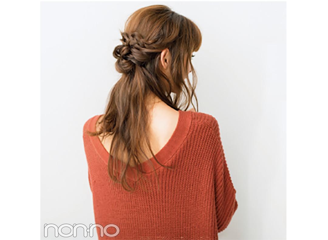外でも室内でも可愛い! 必見★冬のロングの全方位映えヘアアレンジ_1_1-3