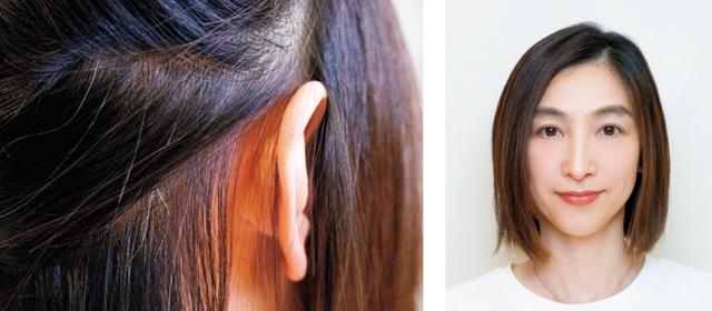大人のヘアカラー研究 顔映えアクセントカラー