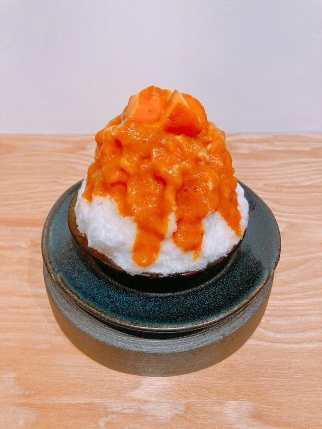 鎌倉 あんず かき氷 中町氷菓店 鎌倉グルメ 鎌倉カフェ
