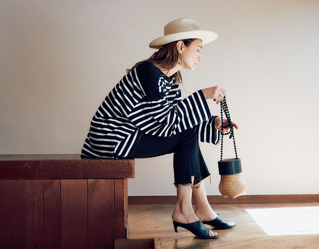 【40代におすすめの夏バッグ】コーデにメリハリを出す2021夏のトレンドバッグとは?|アラフォーファッション_1_9