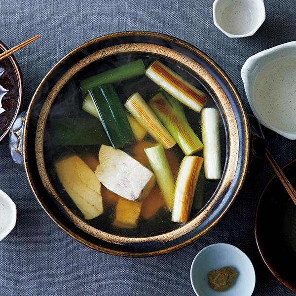 日本酒と楽しみたい! メカジキのねぎま風柚子こしょう鍋【絶品鍋レシピ28days】_1_1