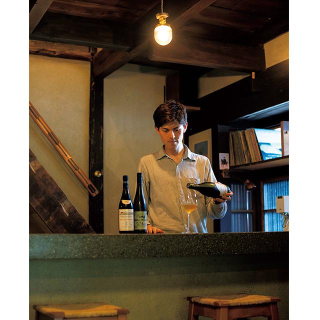 京都の東山にあるフレンチレストラン「デュプリー」のカウンター