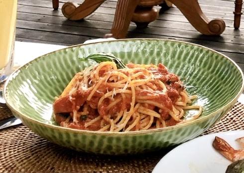 パスタ トマトソース