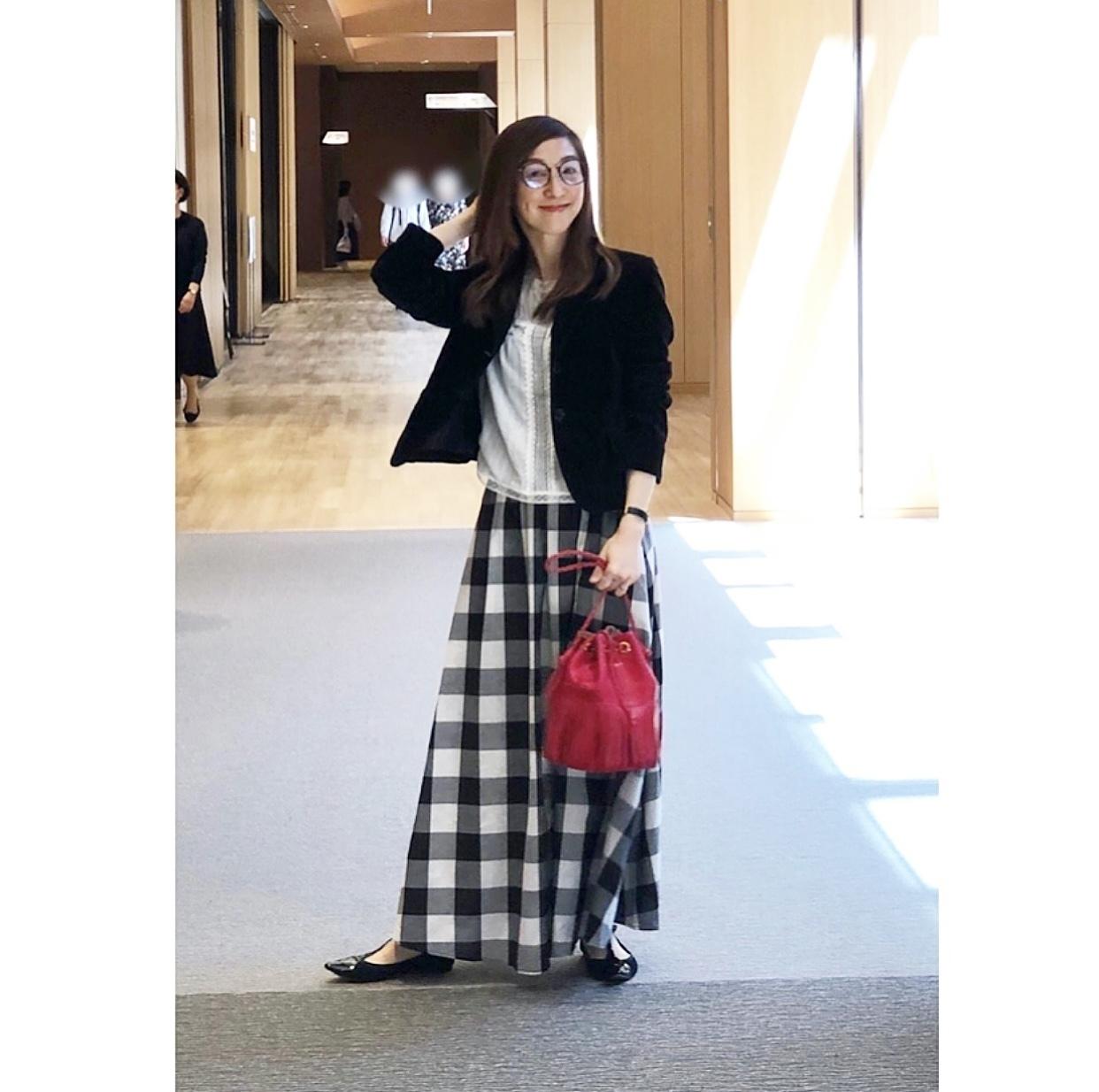 華組 50代の着映えスカート