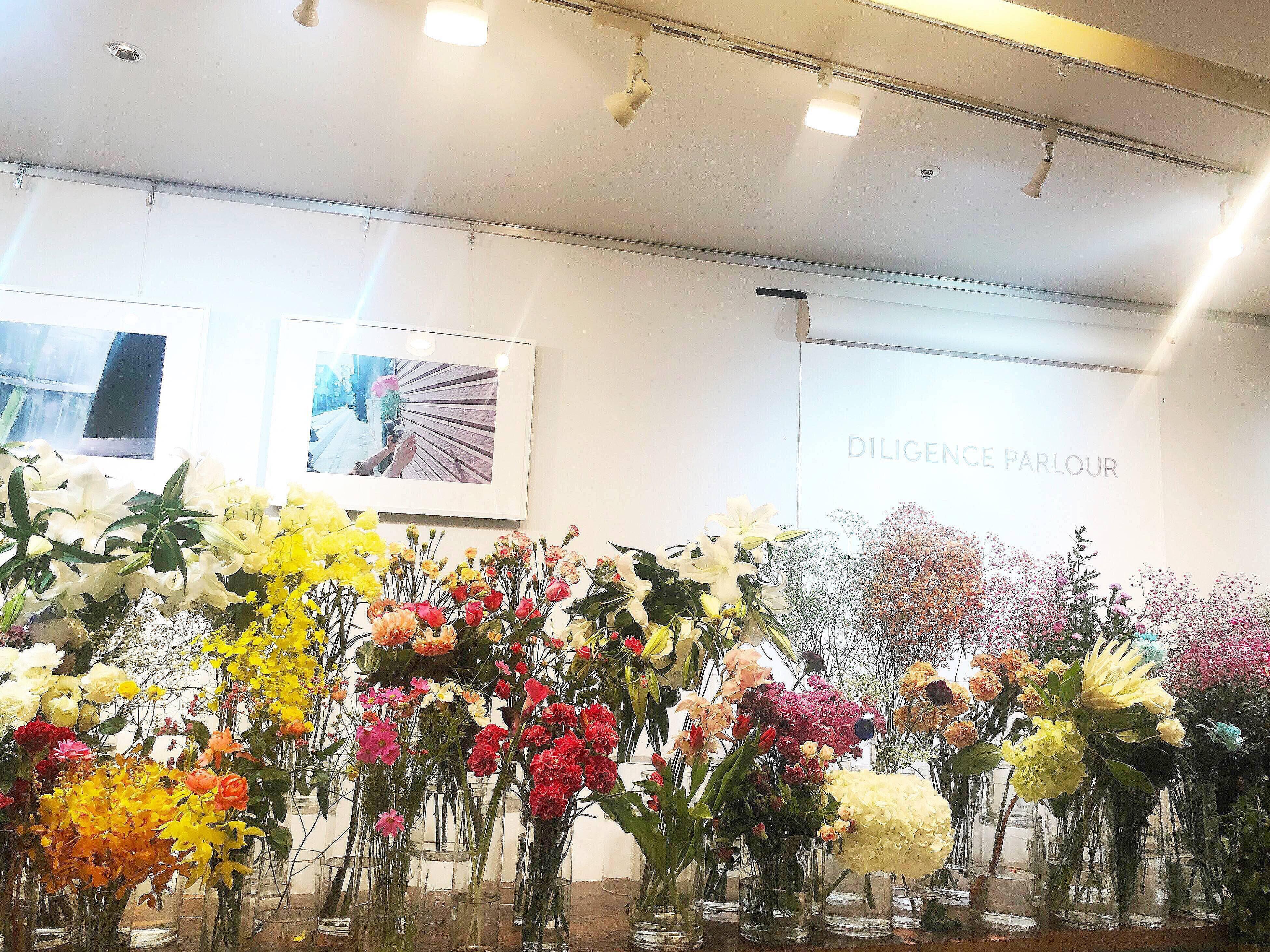 Vol.79♡ クリアバッグがおしゃれ!表参道にある花屋【DILIGENCE PARLOUR】_1_1