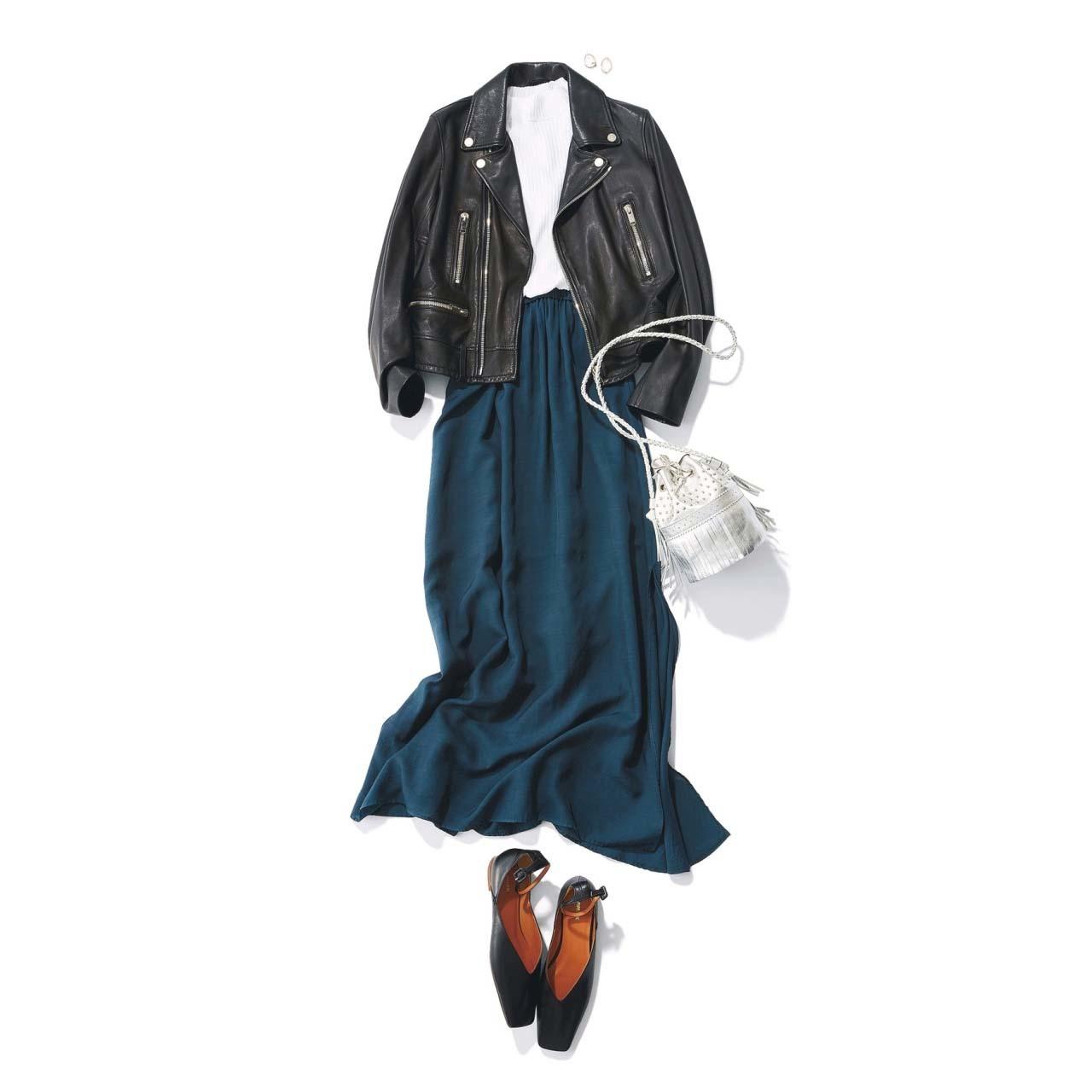 春こそ満喫!アラフォー向け着映えスカート6タイプ|40代レディースファッション_1_7