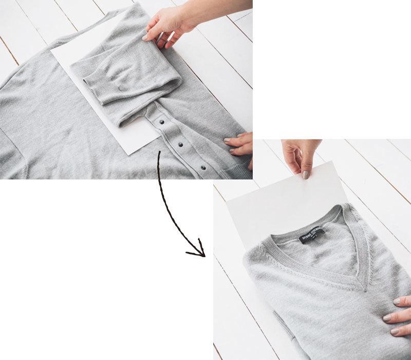 ニットの洗い方8