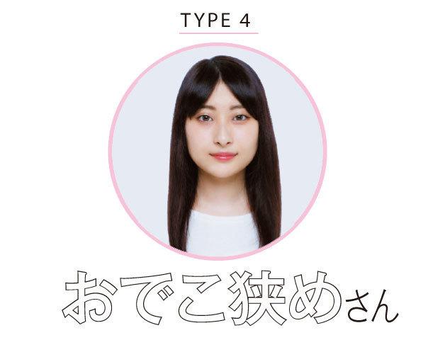 TYPE4 おでこ狭めさん