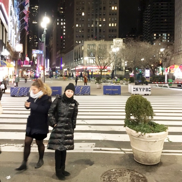 A happy new year from New York!_1_1