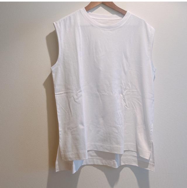 4色買い+1したGAPのテックジャージノースリーブTシャツ_1_4